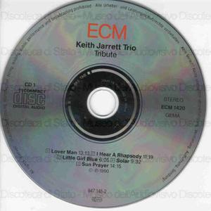 Tribute / Keith Jarrett Trio