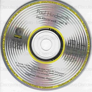 Das Klavierwerk : Vol. 3. / Paul Hindemith ; Siegfried Mauser, piano