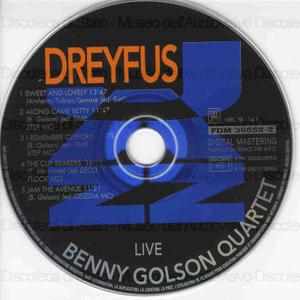 Live / Benny Golson Quartet