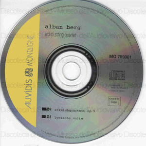 Arditti string quartet / Alban Berg