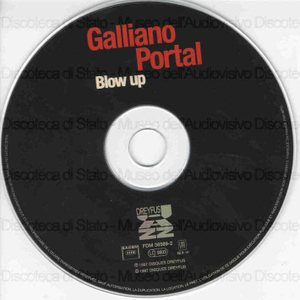 Blow up / Galliano, Portal
