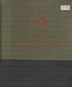 """Gugliemo Tell : Ouverture / Rossini ; Professori d'Orchestra del Teatro alla """"Scala"""" ; diretti dal M.o Ettore Panizza"""