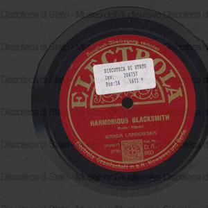 Harmonious Blacksmith / Handel. Turkischer Marsch / Mozart ; Wanda Landowska, spinett
