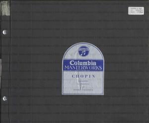 Ballades for pianoforte : Opp. 23, 38, 47, 52 / Chopin ; Robert Casadesus