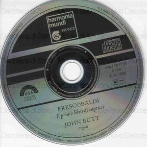 Il primo libro di capricci / Frescobaldi ; John Butt, organ
