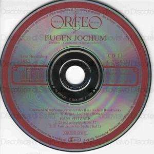 Chorwerke / Pfitzner ; Chor und Symphonieorchester des Bayerischen Rundfunks ; Eugen Jochum, dirigent
