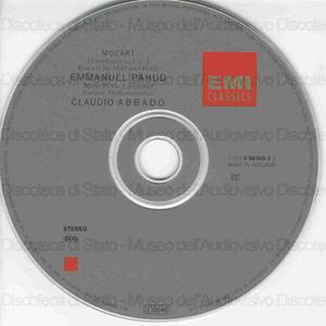 Flotenkonzerte 1 & 2 ; Konzert fur Flote und Harfe / Mozart ; Emmanuel Pahud ; Marie-Pierre Langlamet ; Berliner Philharmonicher ; Claudio Abbado
