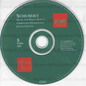Music for piano duet / Franz Schubert ; Christoph Eschenbach & Just Frantz, piano duet