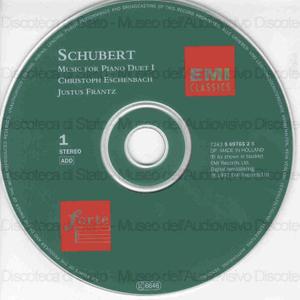Music for piano duet / Franz Schubert ; Christoph Eschenbach & Just Frantz, piano duet