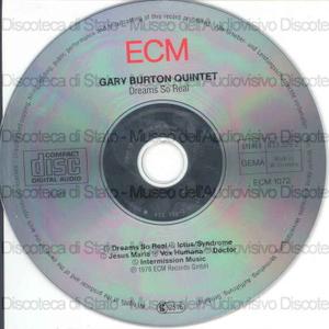 Dreams So Real / Gary Burton Quintet