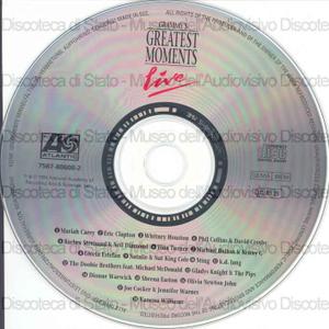 Grammy's Greatest Moments : Live / Mariah Carey ; Eric Clapton ; Whitney Houston... (et al.)