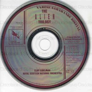 The Alien trilogy / Cliff Eidelman ; Royal Scottish Orchestra
