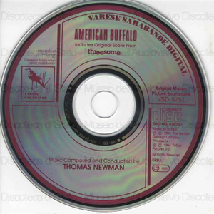 American buffalo : Includes Original Score from Threesome / Music Composed and Conducted by Thomas Newman