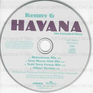 Havana : the extended mixes / Kenny G