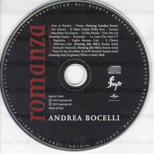 Romanza / Andrea Bocelli