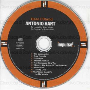 Here I stand / Antonio Hart