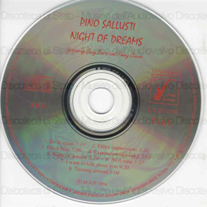 Night of dreams / Pino Sallusti featuring Gary Bartz and Jimmy Owens