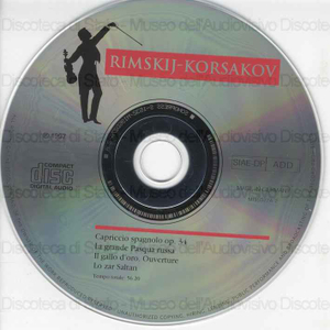 I maestri immortali della musica. Capriccio spagnolo op. 34 / Rimskij-Korsakov ; Orchestra Filarmonica Ceca ; Direttore Oscar Danon