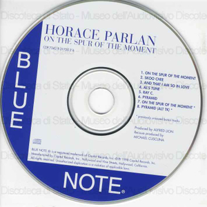 On the spur of the moment / Horace Parlan