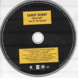 Gold dust live at the royalty / Sandy Denny