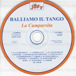 Balliamo il tango : La Cumparsita