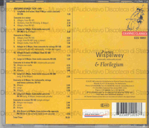 Vivaldi concerti / Pieter Wispelwey, violoncello ; Florilegium