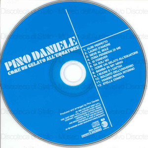 Come un gelato all'equatore / Pino Daniele ; produced and arranged by Pino Daniele