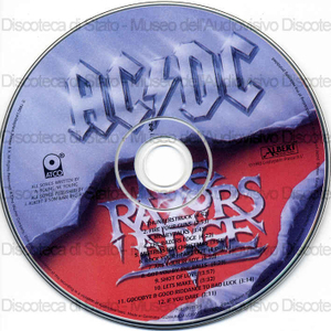 The razors edge / AC/DC
