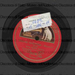 Visione veneziana : barcarola ; suonno 'e fantasia : canzone napoletana / Titta Ruffo, baritono