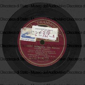 L''urdemo ''nnammurato ; O paese d'o sole / Gilda Mignonette con accompagnamento d'Orchestra M.o E. Tagliaferri