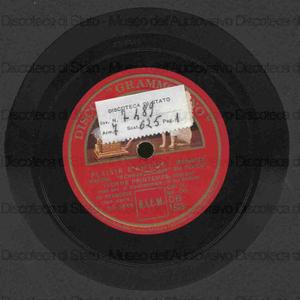 Plaisir d''amour : Romanza / Martini ; Schwarzendorf rid. Fevrier. Al chiaro di luna : Romanza / Lulli ; armon. da De La Tombelle ; [entrambi i brani eseguiti da] Yvonne Printemps, soprano ; con acc. di clavicembalo: M.me...
