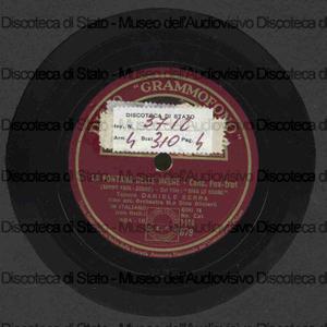 La fontana delle sirene ; Amore sui tetti / D. Serra, tenore ; Orch. D. Olivieri