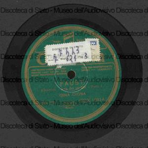 Aria dei gioielli : Faust / C. Gounod ; G. Cigna, soprano