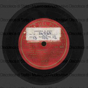 Tosca / Giacomo Puccini ; Caniglia, soprano, B. Gigli, tenore, E. Dominici, baritono ... [et al.] ; Orchestra del Teatro dell'Opera di Roma ; De Fabritiis, direttore