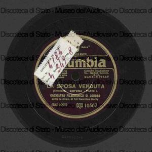 La sposa venduta : sinfonia / Smetana ; Orchestra Filarmonica di Londra ; Harty, direttore