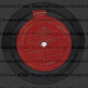 Otello : Morte di Otello / G. Verdi ; F. Tamagno