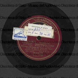 """Scherzo """"Fiordisole"""" ; Valzer delle spighe d'oro """"Fiordisole"""" / F. Vittadini ; Orchestra della Scala ; direttore G. Antonelli"""