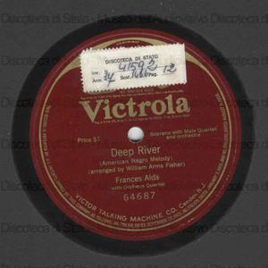 Deep river / William Arms Fisher, arr. ; Frances Alda ; Orpheus Quartet