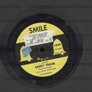Smile ; If i give my heart to you / Frank Barry ; The Song Singers ; Larry Clinton and his orchestra