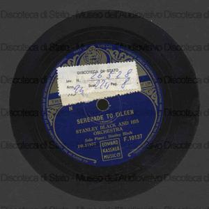 Serenade to Eilien / S. Black e la sua orchestra. Magic circle / S. Black, piano solo