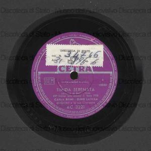 Timida serenata ; Fantastica / Carla Boni, Gino Latilla ; Orchestra Angelini