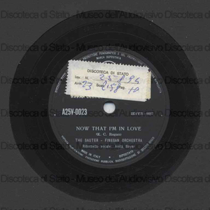 Now that I''m in love ; Yankee doodletown / Sauter ; Orch. Finegan ; [brano 1] A. Boyer