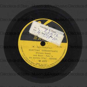 Duettino concertante / Ferruccio Busoni ; pianoforte : Vitale, Buonomo