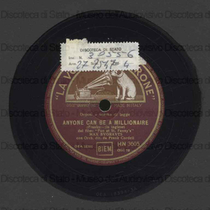 Anyone can be a millionaire ; Gretna Green / Max Bygraves ; Orch. Cordell ; F. Cordell, direttore