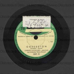 Obsession ; Masquerade waltz / C. Cavallaro, pianoforte ; H. Russell, direttore