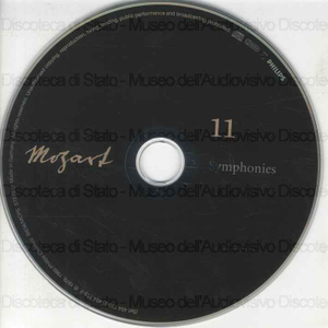 Symphonies : 11 / Wolfgang Amadeus Mozart ; Academy of St. Martin-In-The-Fields ; Sir Neville Marriner