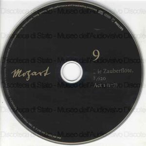 Die Zauberflote : Eine deutsche Oper in zwei Aufzugen / Wolfgang Amadeus Mozart ; E. Schikaneder, librettista ; [Interpreti]: K. Moll, P. Schreier, T. Adam ... [et al.] ; Rundfunkchor Leipzig ; J. P. Wigle, Chorus master ;...