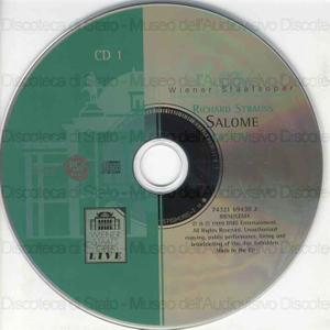 Salome / Richard Strauss ; Libretto di O. Wilde ; Orchestra of the Wiener Staatsoper ; Karl Böhm [interpreti]: H. Hopf, G. Hoffman, L. Kysanek ... [et al.]