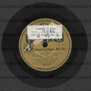 Dixon Schlager n. 16 / Reginald Dixon con organo vurlitzer
