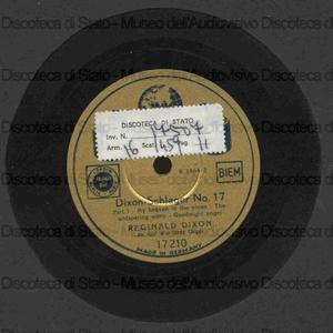 Dixon Schlager n. 17 / Reginald Dixon